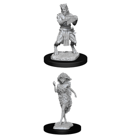 D&D NOLZUR'S MINIS: WAVE 11:  SATYR AND DRYAD