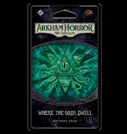 Fantasy Flight Games ARKHAM HORROR LCG: WHERE THE GODS DWELL