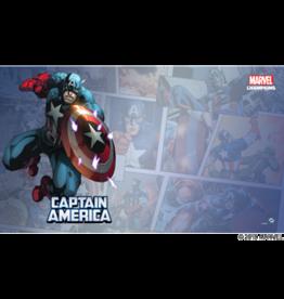 Fantasy Flight MARVEL CHAMPIONS LCG: GAME MAT - CAPTAIN AMERICA