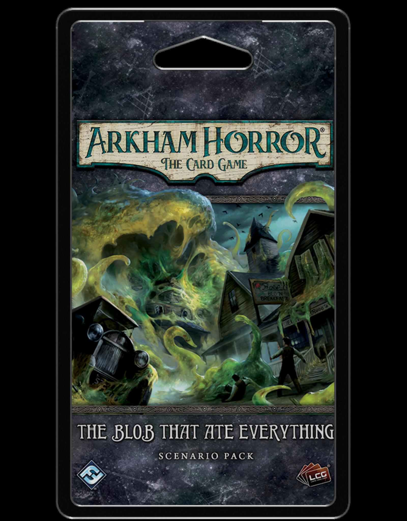 Fantasy Flight ARKHAM HORROR LCG: THE BLOB THAT ATE EVERYTHING