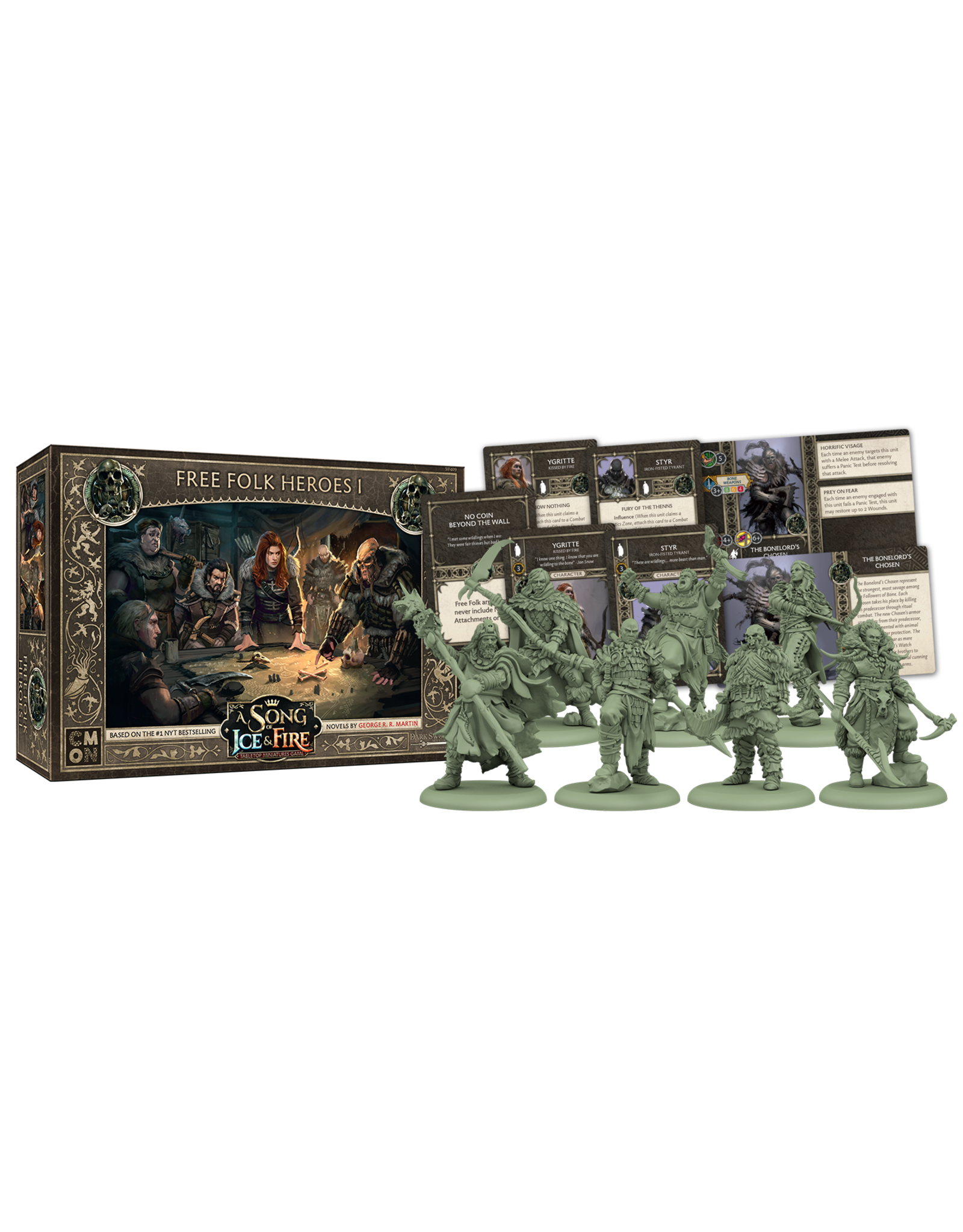 CMON A SONG OF ICE & FIRE: FREE FOLK HEROES BOX 1