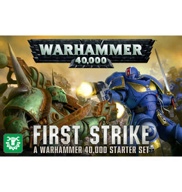 Games Workshop WARHAMMER 40000: FIRST STRIKE