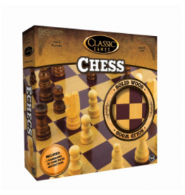 CLASSIC GAMES WOODEN: CHESS