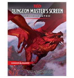 Wizards of the Coast D&D 5E DM Screen Reincarnated