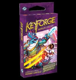 Fantasy Flight Games KEYFORGE: WORLDS COLLIDE SINGLE DECK