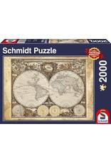Schmidt 2000PC PUZZLE - HISTORICAL WORLD MAP