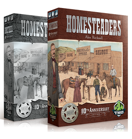 Tasty Minstrel Games HOMESTEADERS KS W/NEW BEGINNINGS EXPANSION