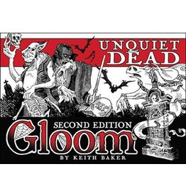 Atlas Games GLOOM 2ND EDITION: UNQUIET DEAD