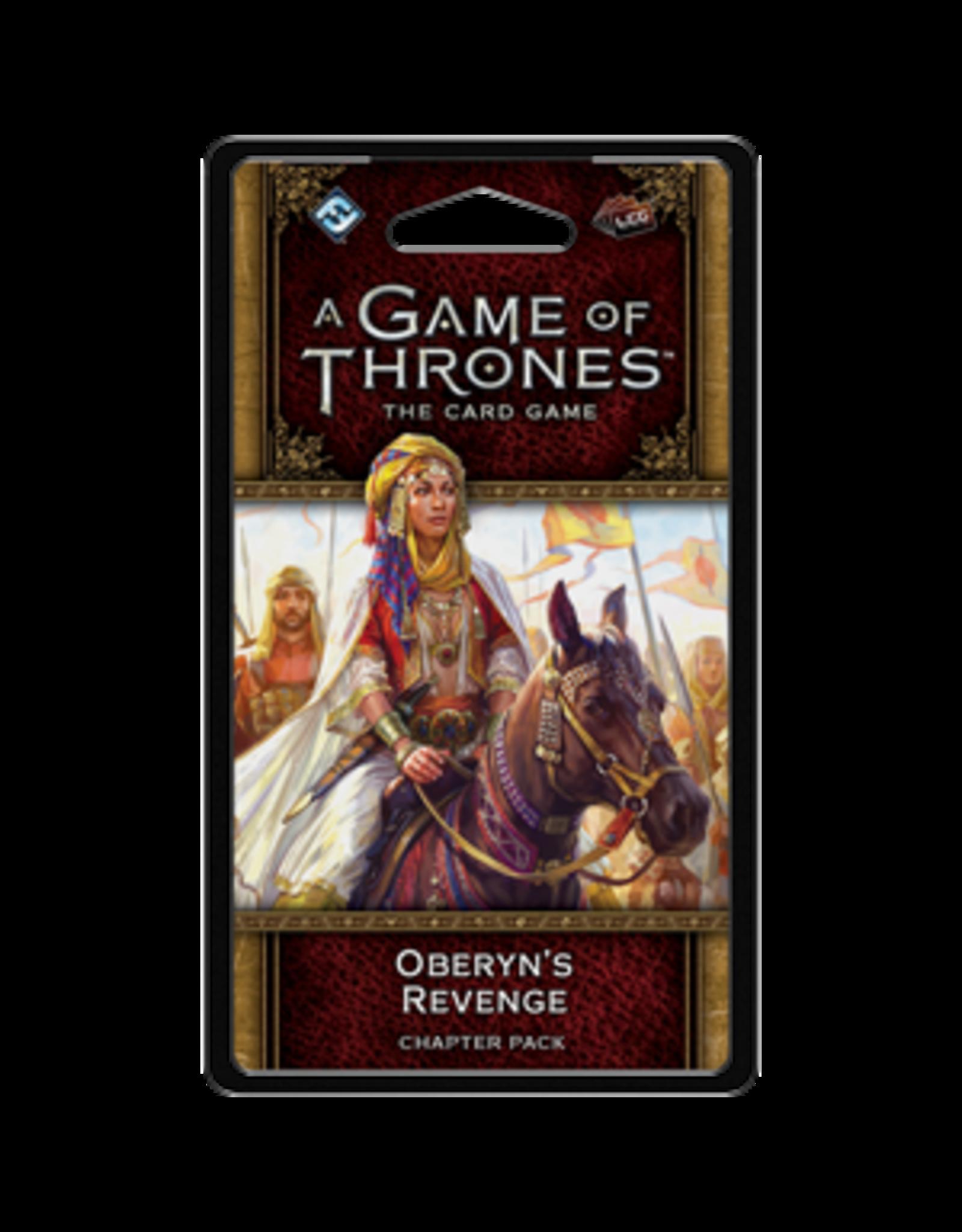 Fantasy Flight GAME OF THRONES LCG: OBERYN'S REVENGE