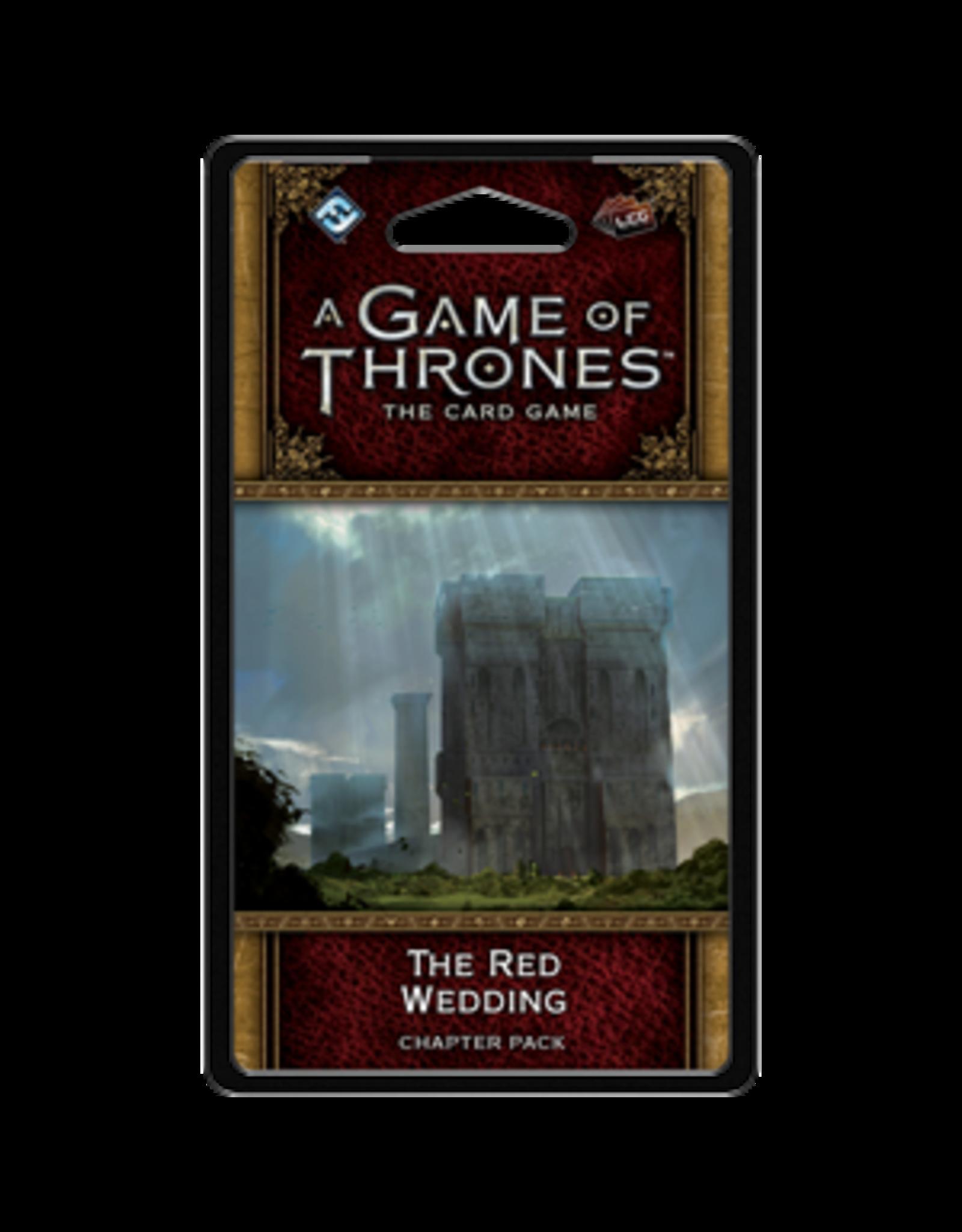 Fantasy Flight GAME OF THRONES LCG: THE RED WEDDING