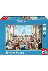 Schmidt 3000PC PUZZLE - THUS PASSES THE GLORY OF THE WORLD