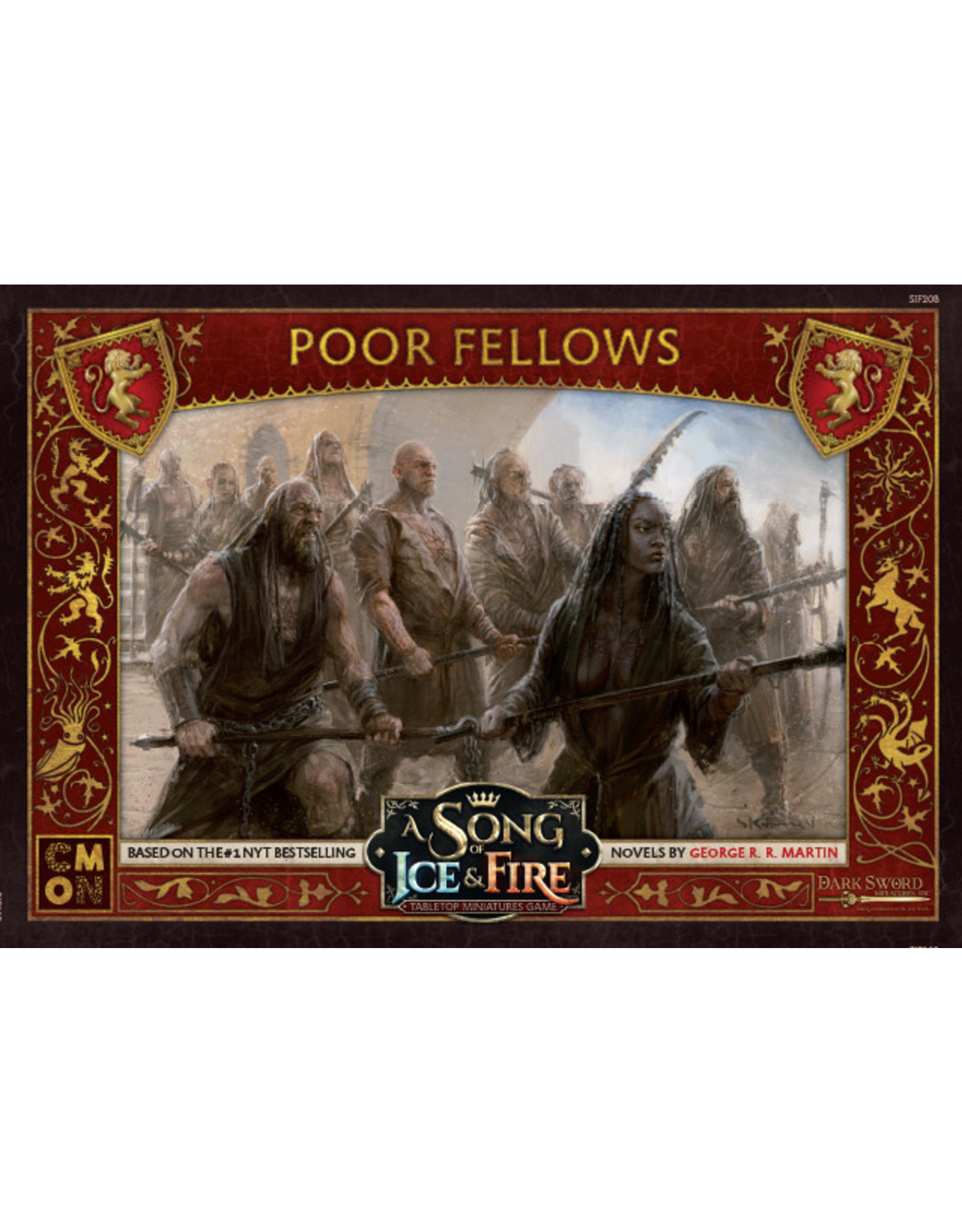 CMON A SONG OF ICE & FIRE: LANNISTER POOR FELLOWS