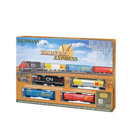 Bachmann Trains HO MODEL TRAIN SET - HARVEST EXPRESS CN