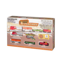 Bachmann Trains N MODEL TRAIN SET - SUPER CHIEF