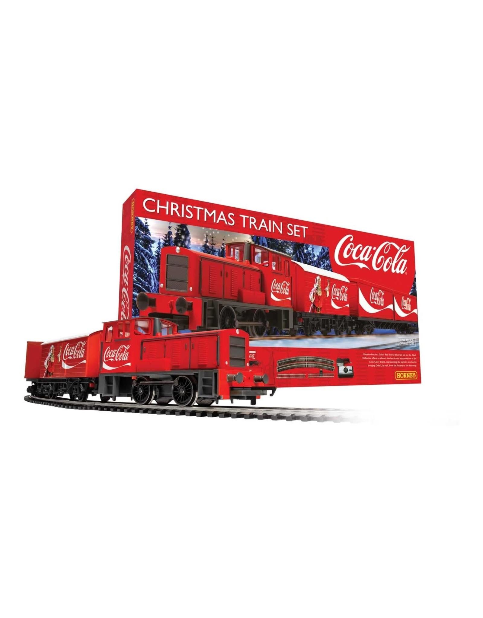 Hornby OO/HO MODEL TRAIN SET - COCA-COLA CHRISTMAS