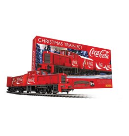 Hornby OO/HO MODEL TRAIN SET - COCA-COLA CHRISTMAS