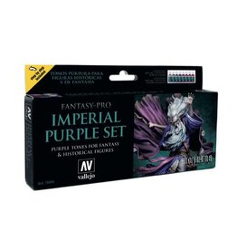 VALLEJO IMPERIAL PURPLE 8 COLOR SET
