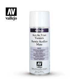 VALLEJO SPRAY VARNISH - MATT 400ML