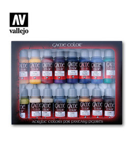 VALLEJO VALLEJO ADVANCED PAINT SET