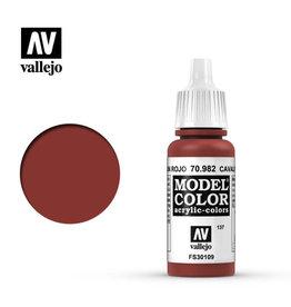 VALLEJO MODEL COLOR: CAVALRY BROWN 17ML