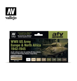 VALLEJO VALLEJO PAINT SET - WWII ARMY EUROPE/NORTH AFRICA
