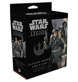Fantasy Flight SWL: CASSIAN ANDOR AND K-2S0 COMMANDER EXPANSION
