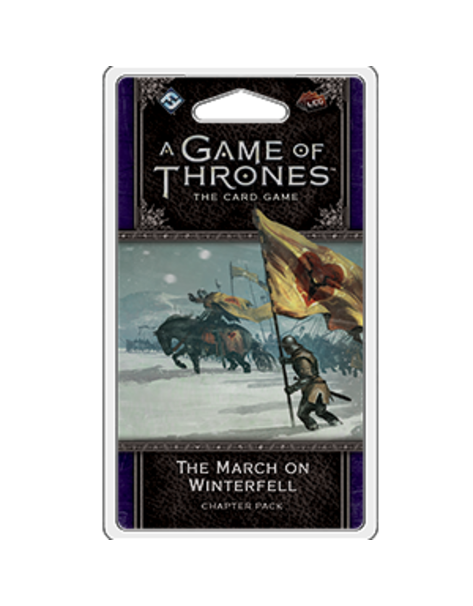 Fantasy Flight GAME OF THRONES LCG: THE MARCH OF WINTERFELL