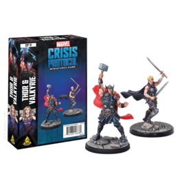 ATOMIC MASS GAMES MARVEL CRISIS PROTOCOL: THOR & VALKYRIE CHARACTER PACK