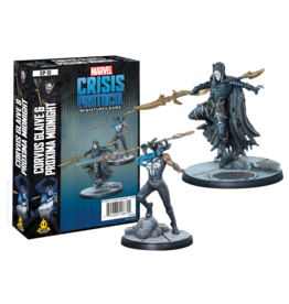 ATOMIC MASS GAMES MARVEL CRISIS PROTOCOL: CORVUS GLAIVE AND PROXIMA MIDNIGHT