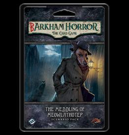 Fantasy Flight ARKHAM HORROR LCG: BARKHAM HORROR: THE MEDDLING OF MEOWLATHOTEP