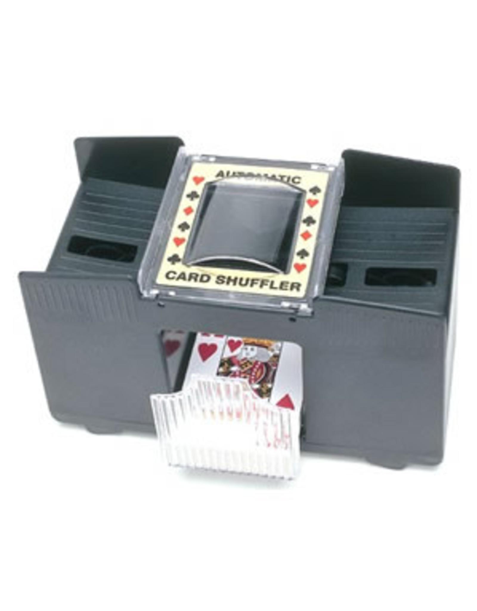4 DECK BATTERY OPERATED CARD SHUFFLER
