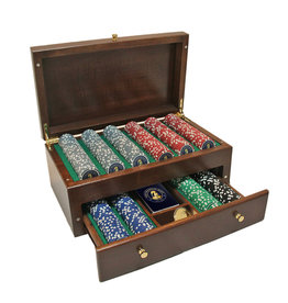 Wood Expressions FRANKLIN MINT POKER CHIP SET