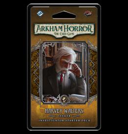 Fantasy Flight ARKHAM HORROR LCG: INVESTIGATOR STARTER DECK - HARVEY WALTERS