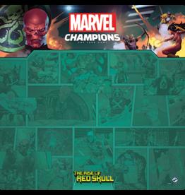 Fantasy Flight MARVEL CHAMPIONS LCG: GAME MAT - RED SKULL 1-4 PLAYER