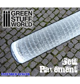 Green Stuff World ROLLING PIN: SETT PAVEMENT
