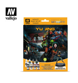 VALLEJO VALLEJO INFINITY YU JING PAINT SET