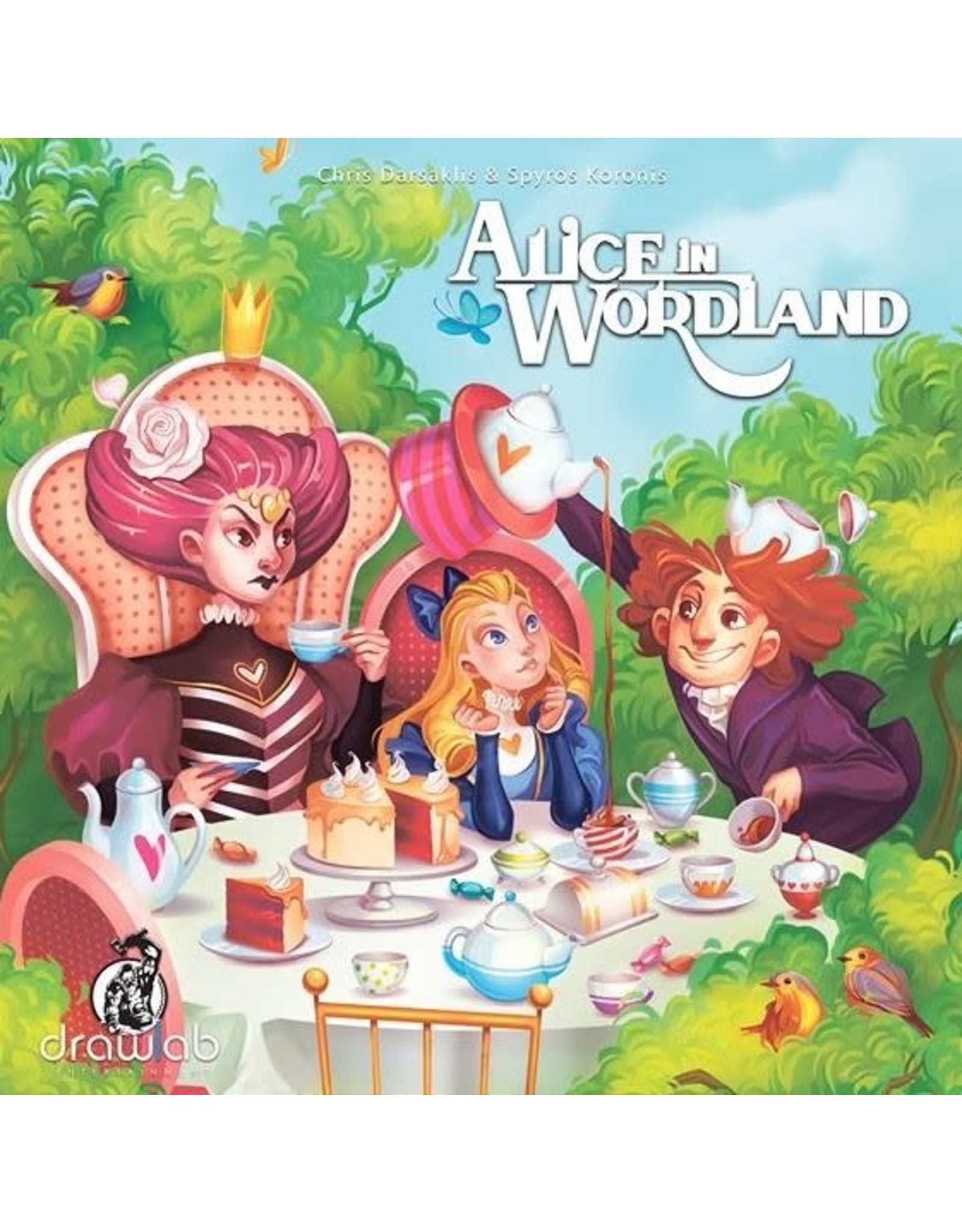 drawlab ALICE IN WORDLAND