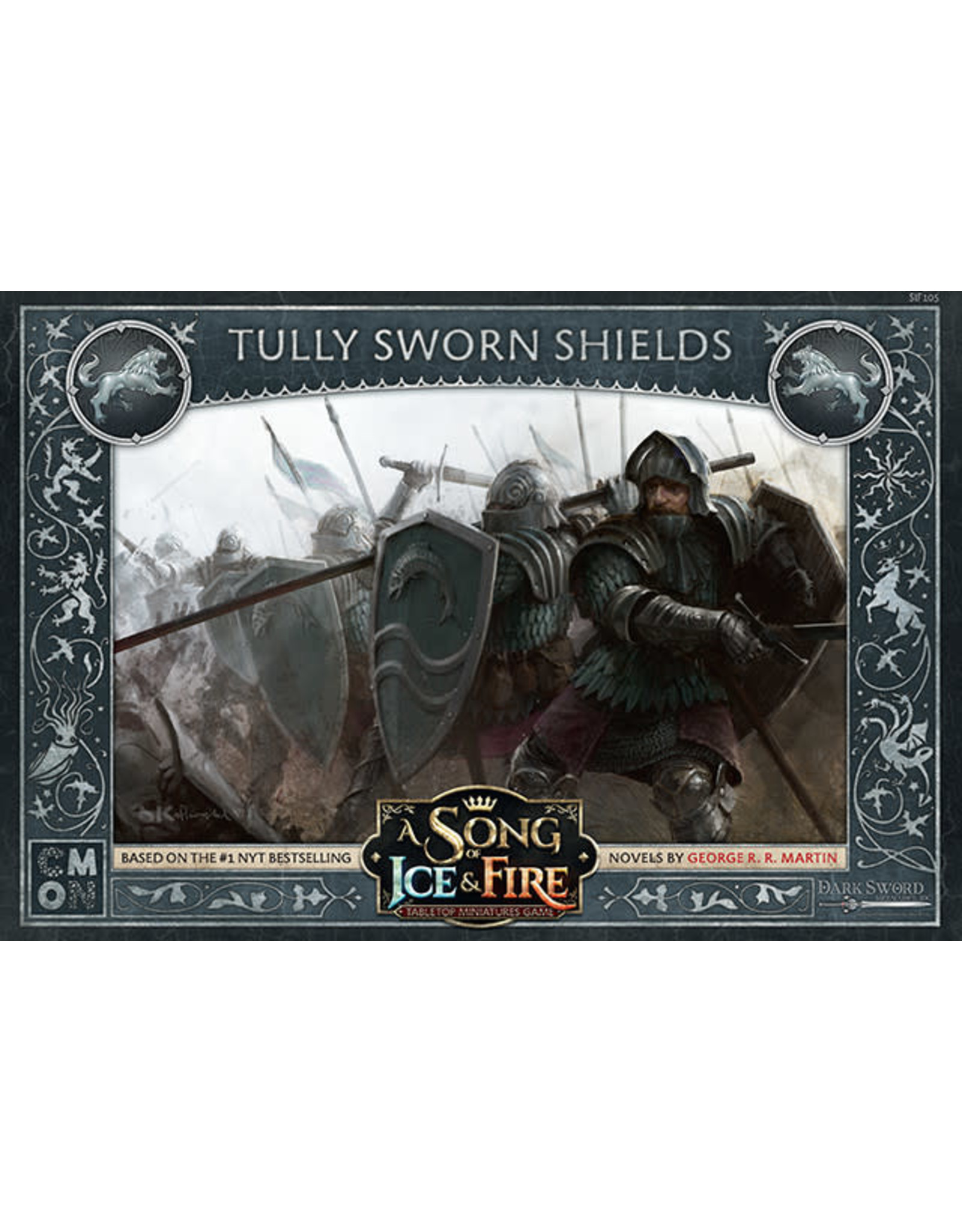 CMON A SONG OF ICE & FIRE: TULLY SWORN SHIELDS