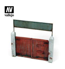 VALLEJO VILLAGE GATE 1:35 54MM