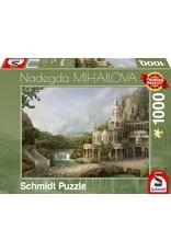 Schmidt 1000PC PUZZLE - MOUNTAIN PALACE