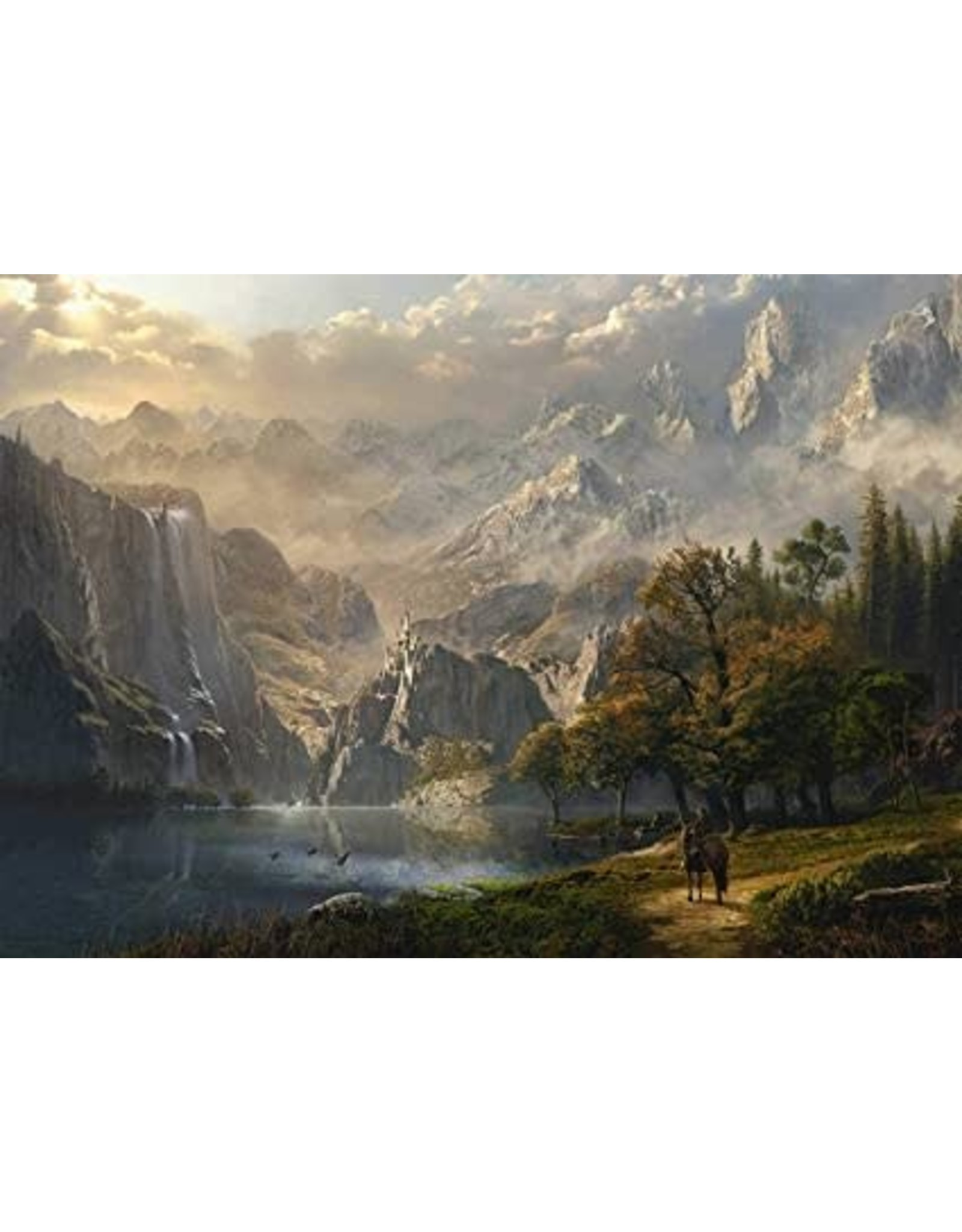 Schmidt 1000PC PUZZLE - PASTORAL WATERFALL