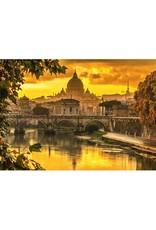 Schmidt 1000PC PUZZLE - GOLDEN LIGHT OVER ROME