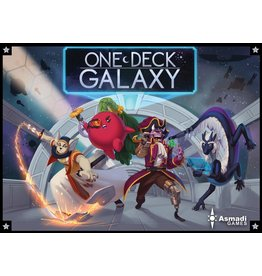 Asmadi Games ONE DECK GALAXY