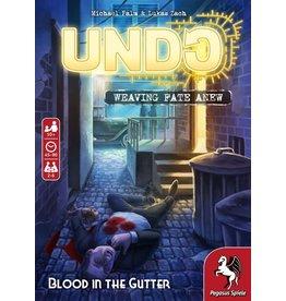 Pegasus Spiel UNDO: BLOOD IN THE GUTTER