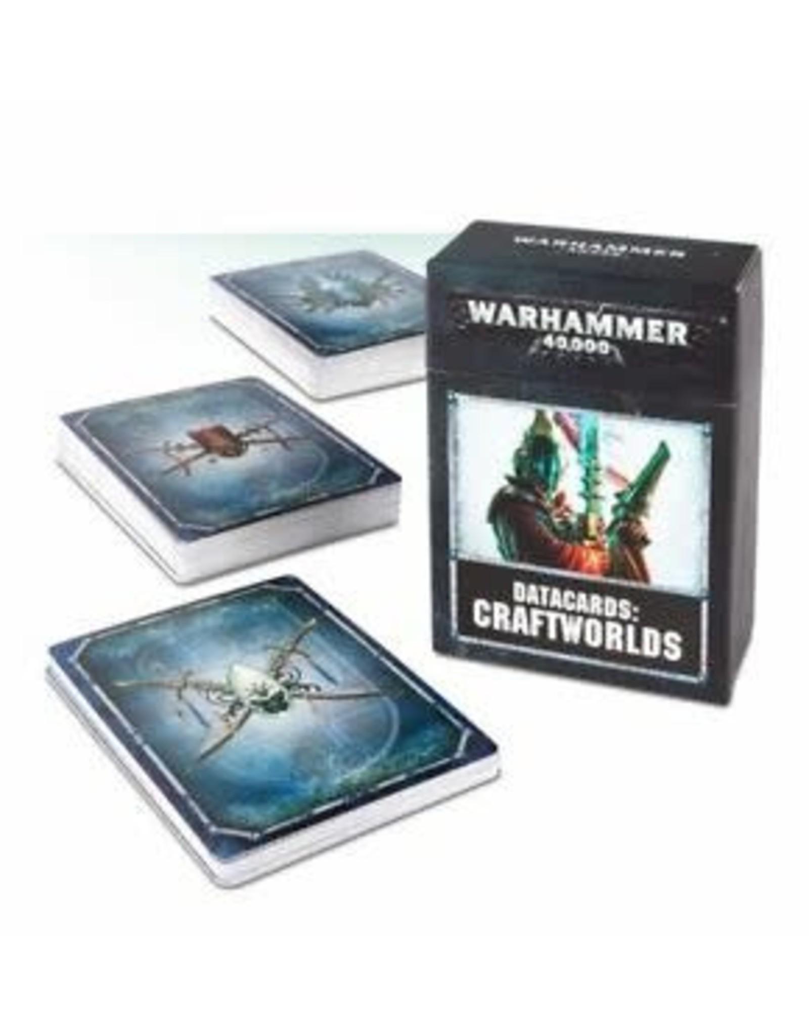 Games Workshop DATACARDS CRAFTWORLDS
