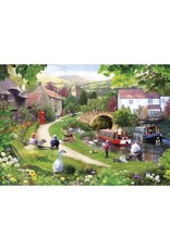 Gibsons 1000PC PUZZLE - LIFE IN THE SLOW LANE