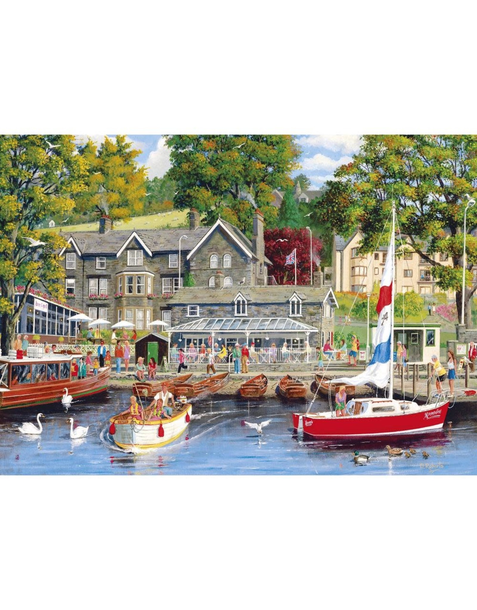 Gibsons 1000PC PUZZLE - SUMMER IN AMBLESIDE