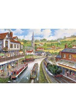 Gibsons 1000PC PUZZLE - YE OLDE MILL TAVERN