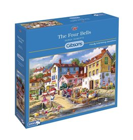 Gibsons 1000PC PUZZLE - THE FOUR BELLS