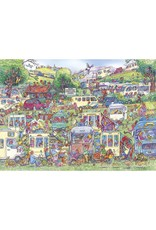 Gibsons 1000PC PUZZLE - CARAVAN CHAOS